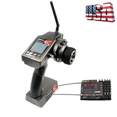 6-Channel Transmitter with S6FG Gyro Receiver for Car// Boat Remote Control