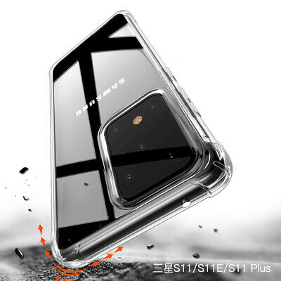 Shockproof Slim Clear Soft Silicone Back Case Cover For Samsung Galaxy