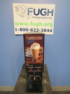 Cecilware GB2CP 2 Flavor Cappuccino Machine Hot Chocolate - 2 Hopper, Compact
