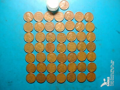1930-S LINCOLN WHEAT CENT PENNY ROLL, Nice hard-to-get-roll, Low sale price!