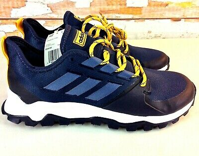 ADIDAS KANADIA TRAIL Running Shoes Mens Size 10 M Navy Blue