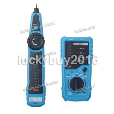 Cable Tester Wire Tracker Network Telephone Line Tracer Toner LAN Phone RJ11