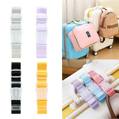 Adjustable Luggage Straps Short Hanging Buckle F. Travel Suitcase Tie Anti-Theft