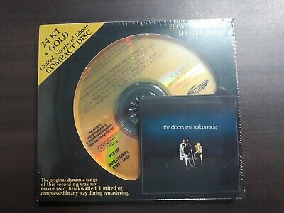 The Doors - The Soft Parade 24KT Gold CD / Sealed