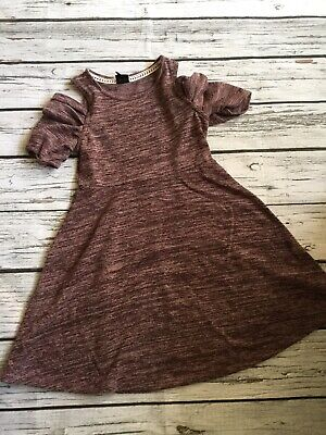 Girl/'s Dress by art class Clavicle Dress Maroon Sz Small 6//6x NWT