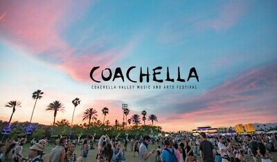 TWO Coachella 2020 Weekend 1 Tickets with Shuttle Passes! General Admission