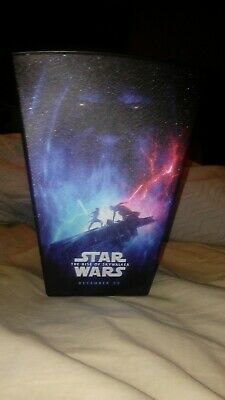 Star Wars The Rise Of Skywalker Popcorn Bucket Churchill Container WOW RARE