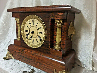 Beautiful Seth Thomas Antique Mantel Clock - Works Perfect