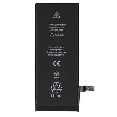 Replacement 1810mAh Phone Battery For Apple iPhone 6 + Adhesive US Black