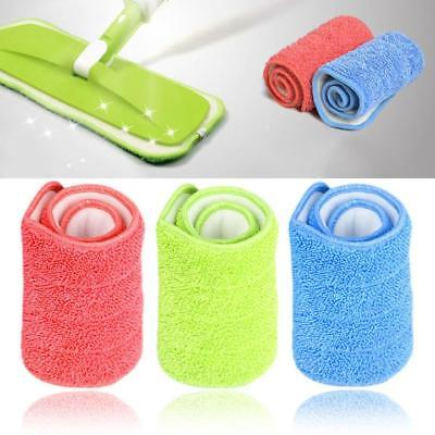 Microfiber Cloth Mop Heads Replacement Dust Cleaning Washable Pad Household Hot