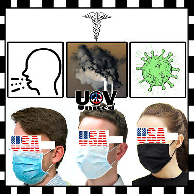 Disposable Dental Industry Dust Proof Mouth Face Mask Respirator Smog