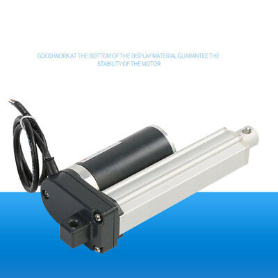100-600mm/4 in-24 in Push Rod Electric Linear Actuator Putter Lifter DC12V/24V