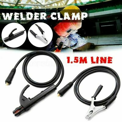 300A Ground Earth Clamp Stick Welder Cable For MMA ARC Welding Inverter UK