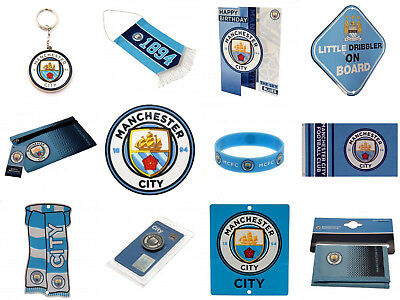 Manchester City FC Official Football Club Birthday Christmas Gifts Brand New
