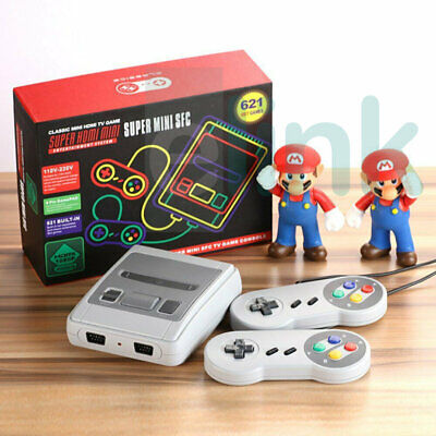 Built-in 621 Games 2 Controllers HDMI Retro TV Game Console 8 Bit Classic