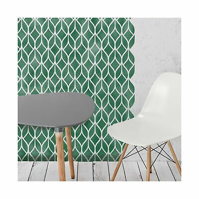 FALLING LEAVES Modern Leaf Stencil - Furniture Wall Floor stencil for Painting
