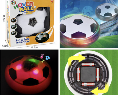 Hover Soccer Ball Electric Lights Sports Football Toy Gift Kids Boys Indoor Game