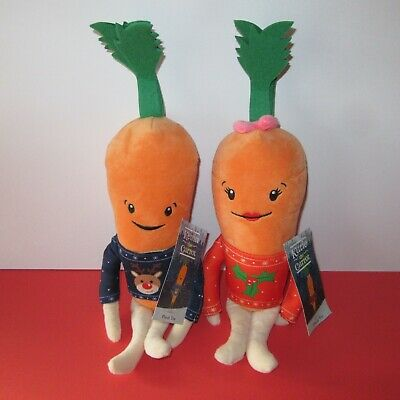 Aldi Kevin the Carrot 2019 Christmas Soft Plush Soft Toy Valentines Gift New