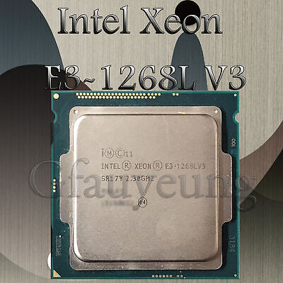 Intel Xeon E3-1220L v3 Processor LGA1150 CM8064601481914  13W TDP Work normally
