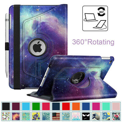 For 7.9 Inch Apple iPad Mini 5/4/3/2/1 360° Rotating Case Smart Swivel Cover