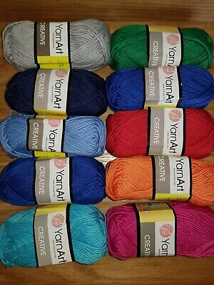 1BallX50g Special Thick Worsted 100/% Cotton HAND Knitting Yarn 09 Baby Blue