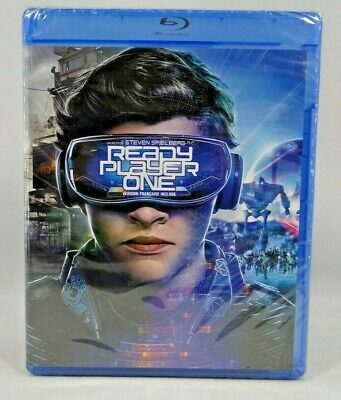 Ready Player One (Blu-ray Disc, 2018) New !