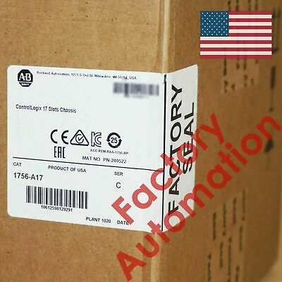 Sealed UPS US STOCK Allen-Bradley ControlLogix 17 Slots Chassis 1756-A17