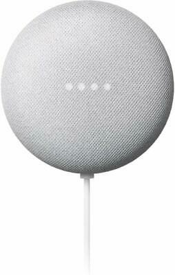 Google Nest Mini - 2nd Gen Smart Speaker with Google Assistant - (Chalk)GA00638