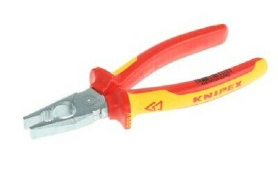 7in Knipex 0302180 Combination Pliers Multi-Component Grip 180mm