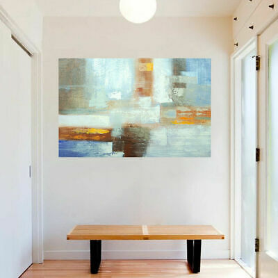 Genuine Hand-painted Abstract Oil Painting On Canvas Modern Wall Art - Framed