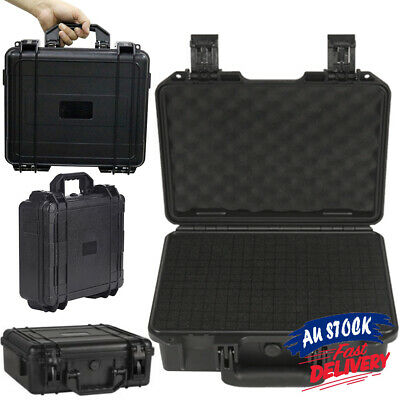 Box Portable Hard Storage Plastic Organizer Waterproof Case Carry Bag Tool ACB#