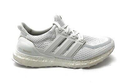 Details about ADIDAS UltraBoost Running Shoes Gray Knit Slip On AC7749 Mens US 10.5 EU 44 23