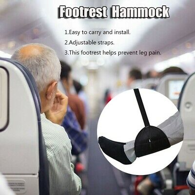 Travel Foot Rest Footrest Leg Pillow Flight Memory Foam Cushion Hammock Soft