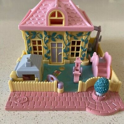 Polly Pocket Pollyville 1994 Nursery School Day Care Complete!