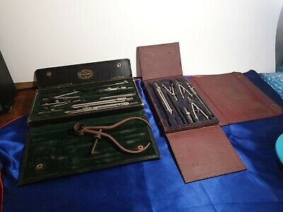 Vintage Compass instrument part Sets AG Thornton plus WH Harling