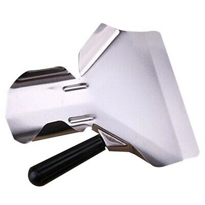 1X Heavy Duty Stainless Steel Catering Chip French Fry Bagger Scoop Handle gQAZM