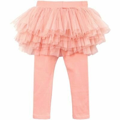 Girls Skirt Pants Spring Autumn Children Culottes Gauze Trousers Skirts Bow Tutu