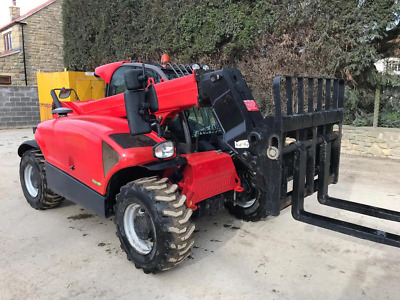 2015 Manitou Mt625 Telehandler With Aircon