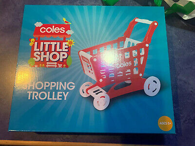 Coles little shop 2 mini collectables shopping trolley