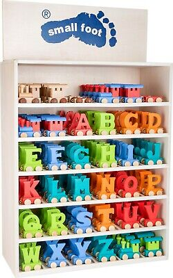 Brand New Wooden Colour Train Name Letters Personalised Gift for Nursery Bedroom