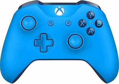 Microsoft - Xbox One Wireless Controller, Blue - WL3-00018 - For Parts *Read*