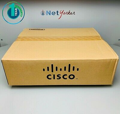 New Open Box Cisco WS-C3850-48P-S • 48 Port PoE+ 3850 Switch ■Same Day Shipping■