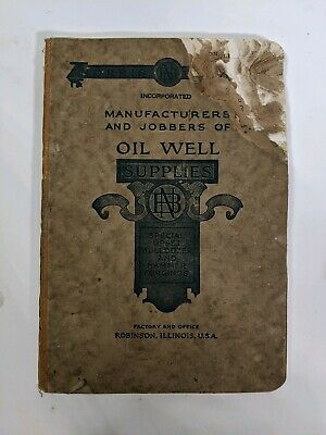 Oil Well Supplies Catalog Norrison Brothers Inc. Robinson Illinois