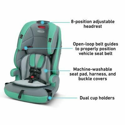 New Graco Tranzitions 3 in 1 Harness Booster Seat, Basin