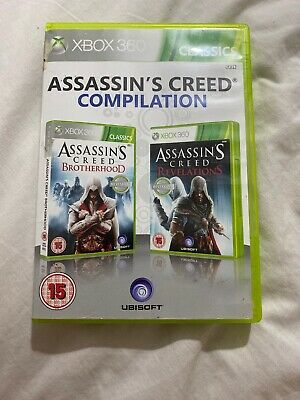 Assassins Creed Brotherhood and Revelations Double Pack (xBox 360)