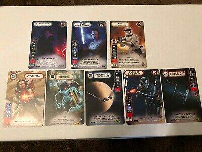 Star Wars Destiny Alternate Full Art Electroshock X2 Tournament Promo