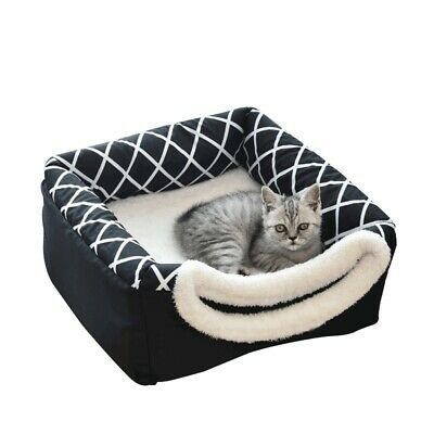 Pet Nest Hot Cat Dog Sleeping Bed Puppy Warm Kennel Cushion Space Capsule Shape