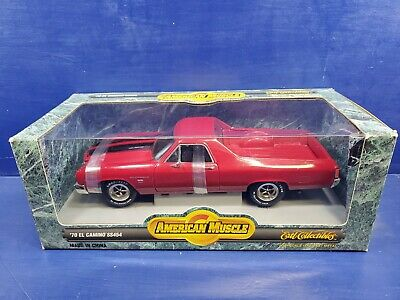 Ertl American Muscle 1970 RED Chevy El Camino SS454 1:18 Scale Diecast Car NEW