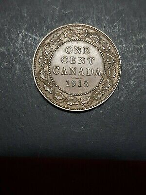 Canada  Large One Cent 1918