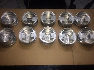 set of 10 Big Block Chevy BME 4.500 forged domed pistons